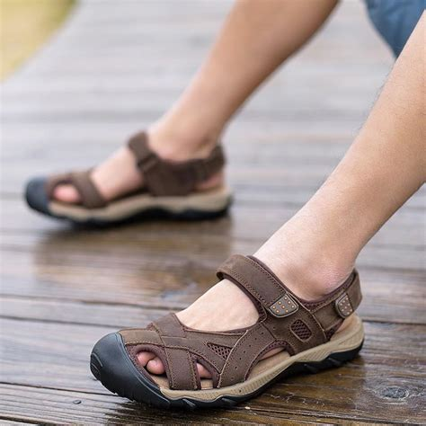 size 38 sandal wanita connexion vmuksan big size 38 48 sandals real leather summer