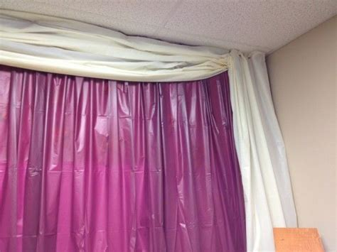 table cloth drapes plastic tablecloth curtains backdrop party plastic