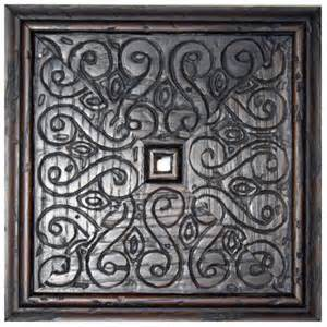 Carved Wood Wall Decor by Carved Wood Wall Decor Square