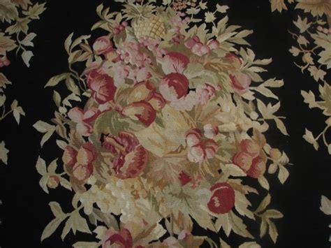 10 runner rug fruit fruit design 6x9 aubusson rug apple grapes pineapple ebay