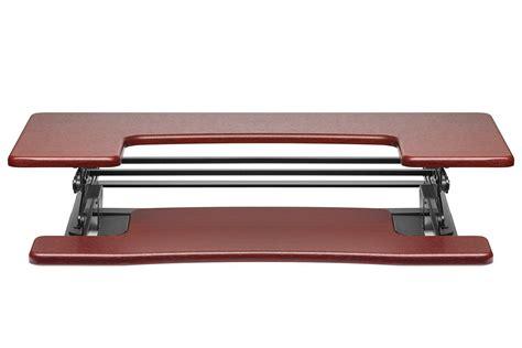 adjustable height desk amazon halter ed 600 preassembled height adjustable desk sit