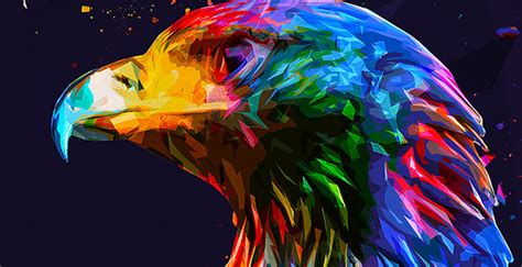 design art pic winning designs in our abstract low poly photoshop action