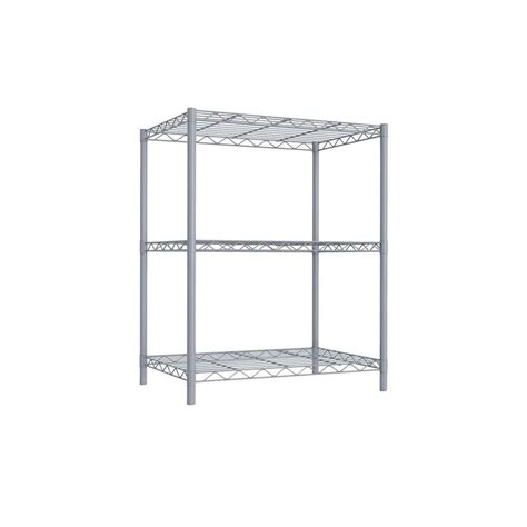 Closetmaid Metal Shelving Closetmaid Shelf And Rod 6 Ft X 12 In Ventilated Wire