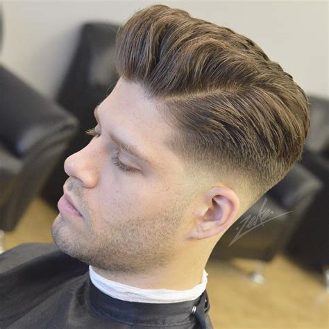 latest low cut hair styles pompadour hairstyles for men