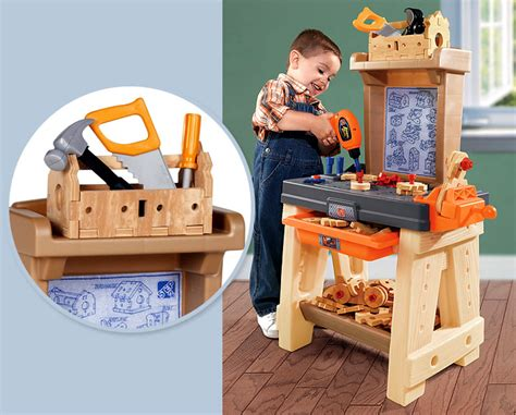 toy tool bench black and decker junior power tool workshop