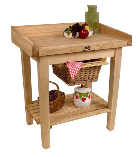 butcher block kitchen islands carts john boos john boos white house table cart with butcher block top