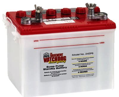 glentronics inc sump emer battery 24ep6