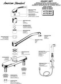 kitchen sink faucet parts diagram plumbingwarehouse com american standard commercial