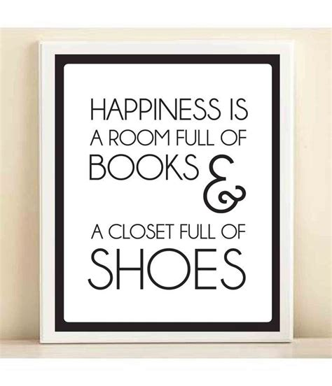 room book based on true story books and shoes print poster so true