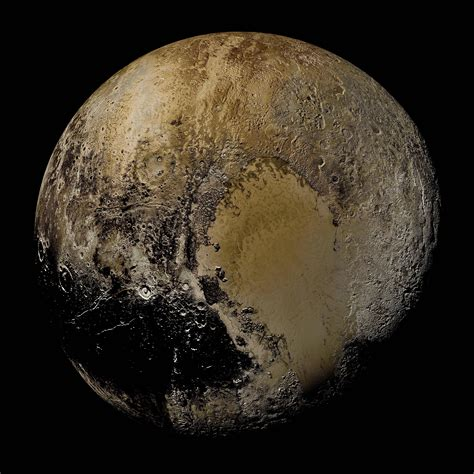 what is the color of pluto a real color view of pluto space