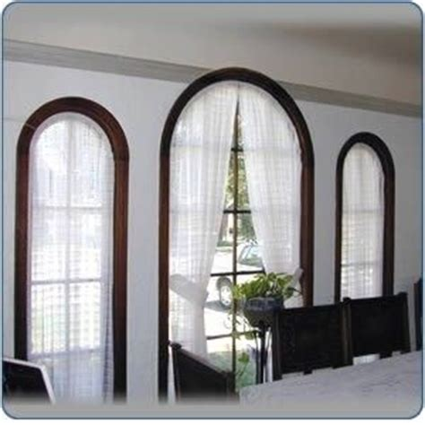 window treatment for curved window the world s catalog of ideas