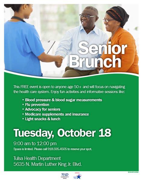 senior brunch oct 18 tulsa health department