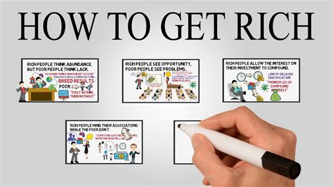 how to get how to get rich 5 rich principles that change your life