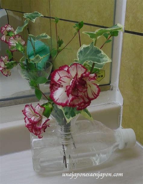 floreros con botellas de plastico florero con botellas de pl 225 stico ペットボトルで出来た花瓶 en una