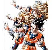 SS3 Goku Gotenks And Gohan All In Attack Stance