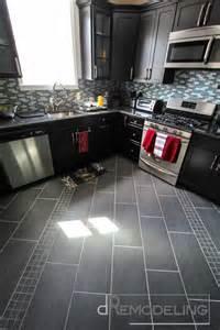 Gray And Teal Bathroom - philadelphia kitchen remodel warm contrast kitchen