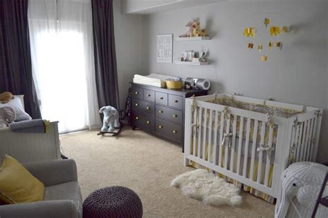 behr paint colors for nursery adelaide s yellow and gray nursery project nursery