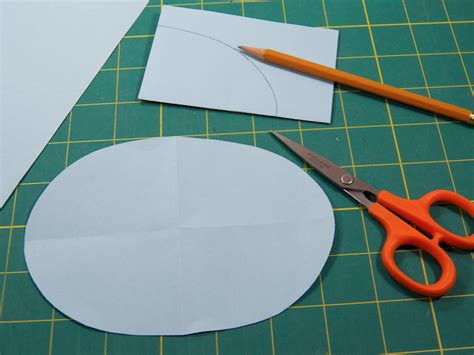 How To Make A Circle With Paper - how to make an oval box in any size boxes and bags
