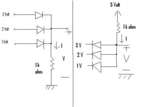diode questions for gate diodes exercise logic gates electrical engineering stack exchange