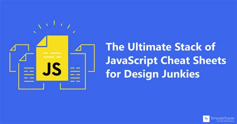 design junkie meaning the ultimate stack of javascript cheat sheets for design