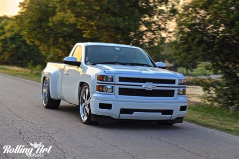 widebody toyota truck widebody chevy silverado rides magazine