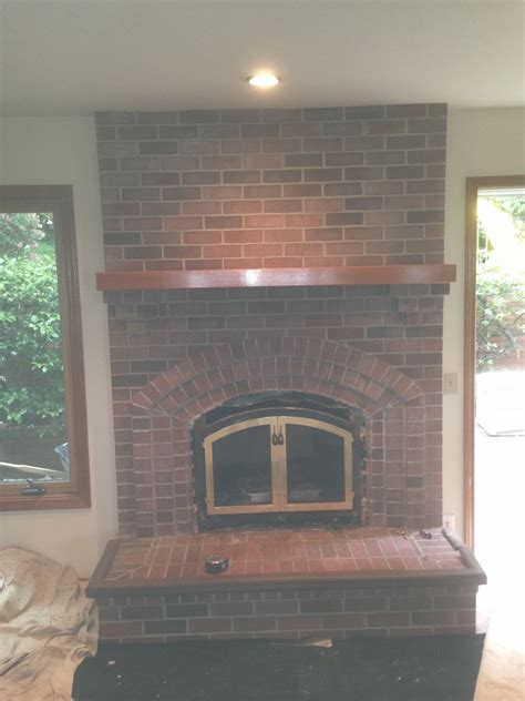 Fireplace Rebuilding And Restoration by Quot Bricked In Quot A Fireplace Restoration Project Pristine