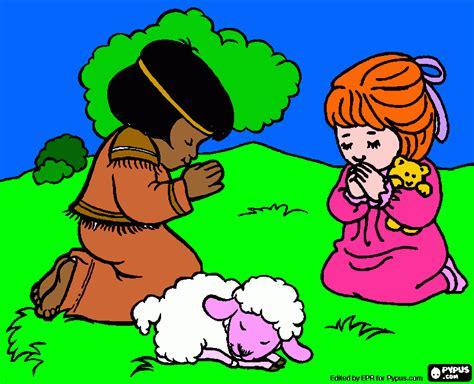 imagenes de ositos orando ni 241 os orando para colorear ni 241 os orando para imprimir