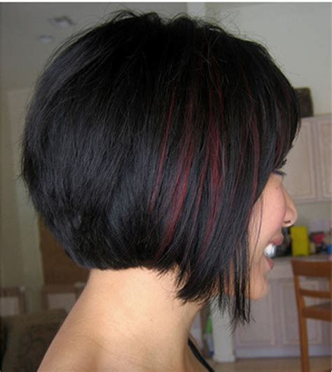 hairstyles with thick highlights 20 popular short haircuts for thick hair peekaboo