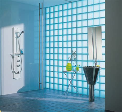 bathroom glass bricks home dzine home improvement let in natural light with glass blocks
