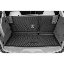 Cargo Liner For 2015 Gmc Acadia 2015 Acadia Integrated Cargo Liner Gmc Logo