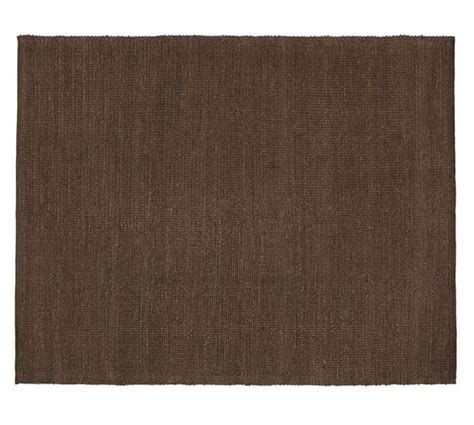 jute and chenille rug heathered chenille jute rug espresso pottery barn