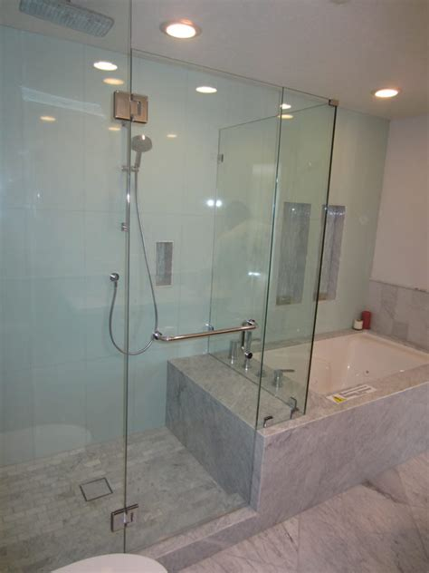How To Install Glass Shower Doors 3 8 Glass Shower Enclosure Installation Patriot Glass And Mirror San Diego Ca