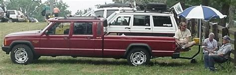 jeep comanche crew cab you seen a crew cab jeep truck
