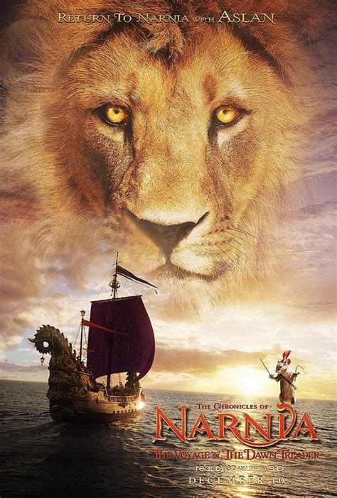 film narnia voyage of the dawn treader narnia 3 teaser trailer