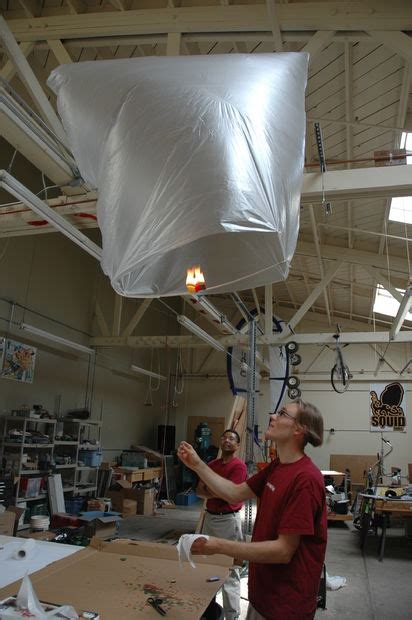 How To Make An Air Balloon Out Of Paper - candle powered air balloon