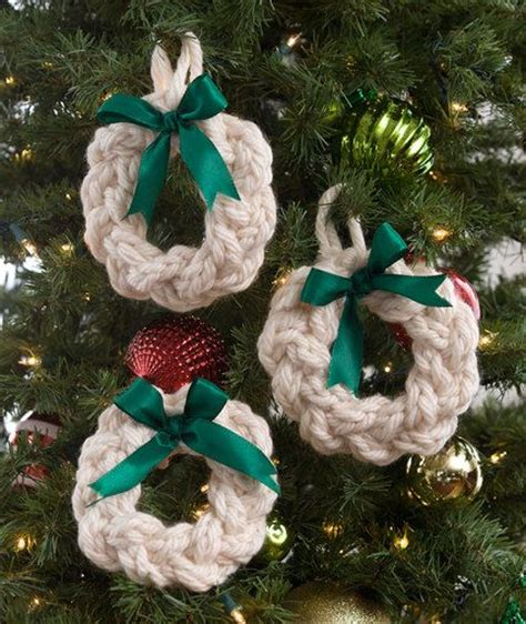 knitted christmas decorations decorations knitting patterns in the loop knitting