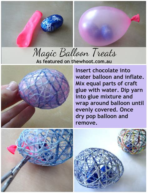 diy treats diy easter magic balloon treats pictures photos and images for