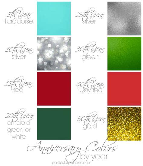 10 year anniversary color bigoo - 10 Year Anniversary Color