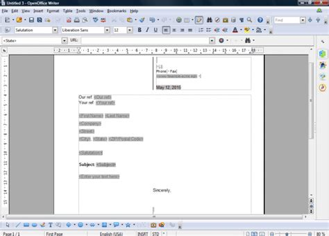 openoffice newspaper template how to set up new default templates in openoffice tip