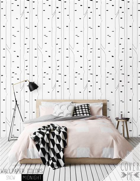 peel and stick removable wallpaper birch peel and stick removable self adhesive vinyl wallpaper