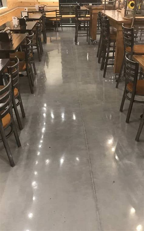Polished Concrete Commercial Restaurant   Advance