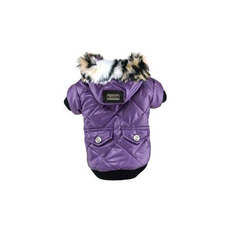 Bunda Fospor 25cm 1 zimn 237 bunda pro psa s kapsami fialov 225 vel s tvujpejsek cz