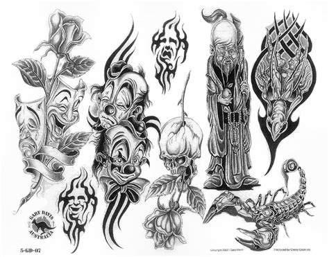 mad tattoo designs mad clown drawing ideas