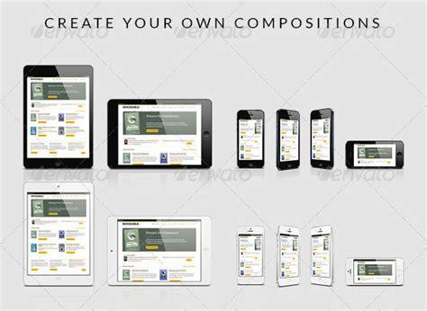web design mockup ipad app 22 psd mockup for responsive design app design freebies