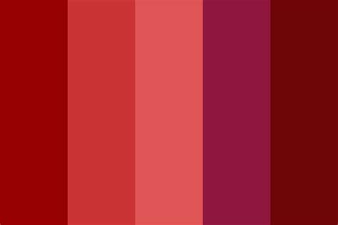 pomegranate color palette