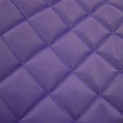 quilted 4oz waterproof fabric purple fabric