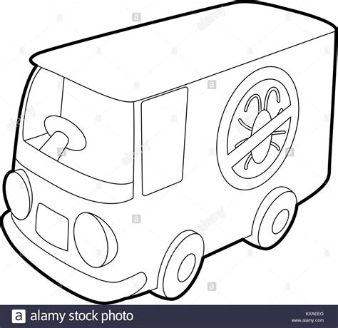 Outline Style Auto by Car Roof Black And White Stock Photos Images Alamy