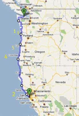 map of oregon lighthouses five favorite west coast lighthouses