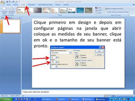 como fazer layout de banner aprenda a fazer um p 244 ster ou banner