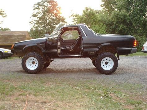 brat car lifted 196 best subaru brats and bajas images on pinterest